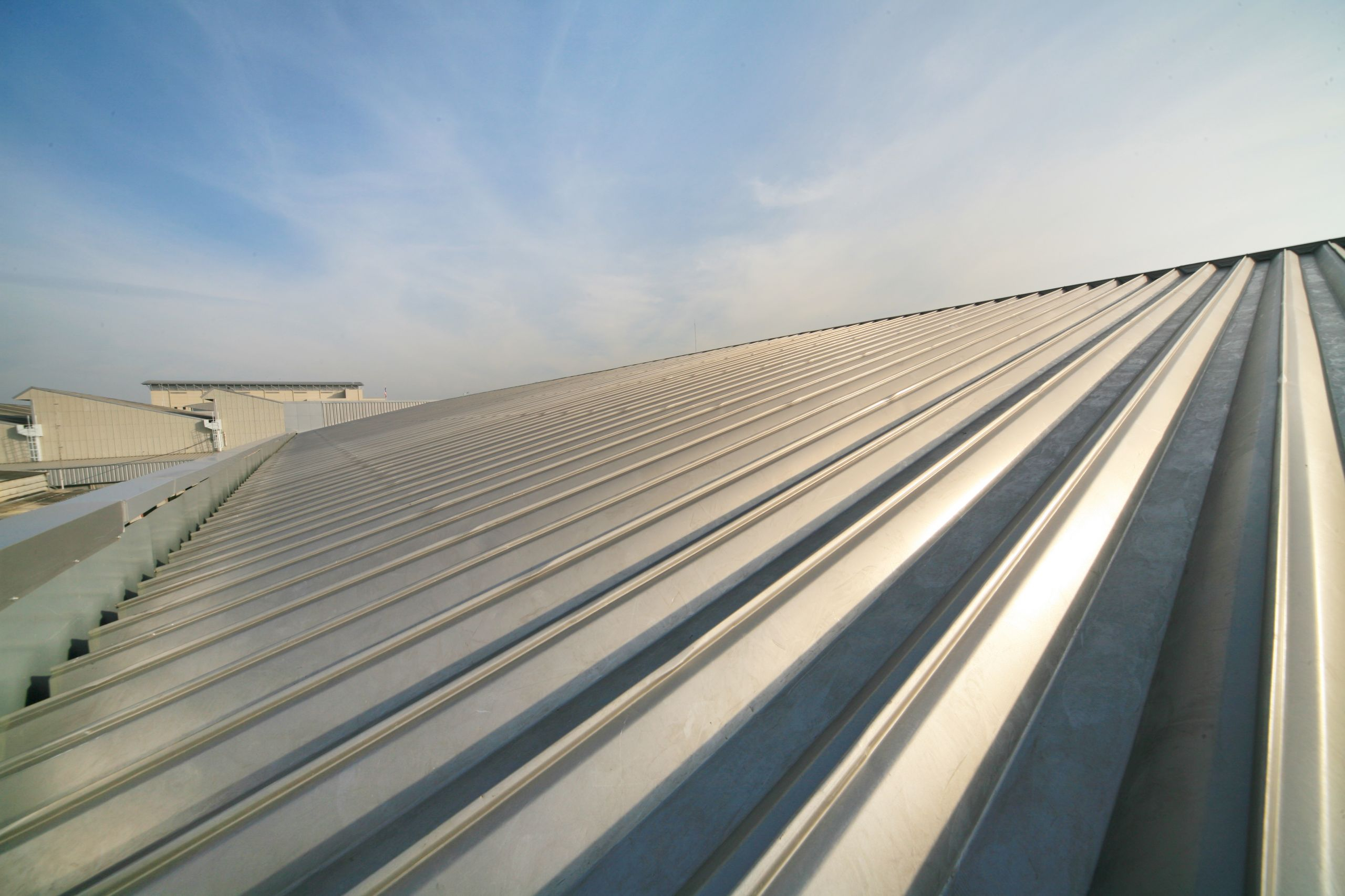Metal Roof Installation and Replacement for Large Commercial Warehouse Property - Commercial Roof Replacement