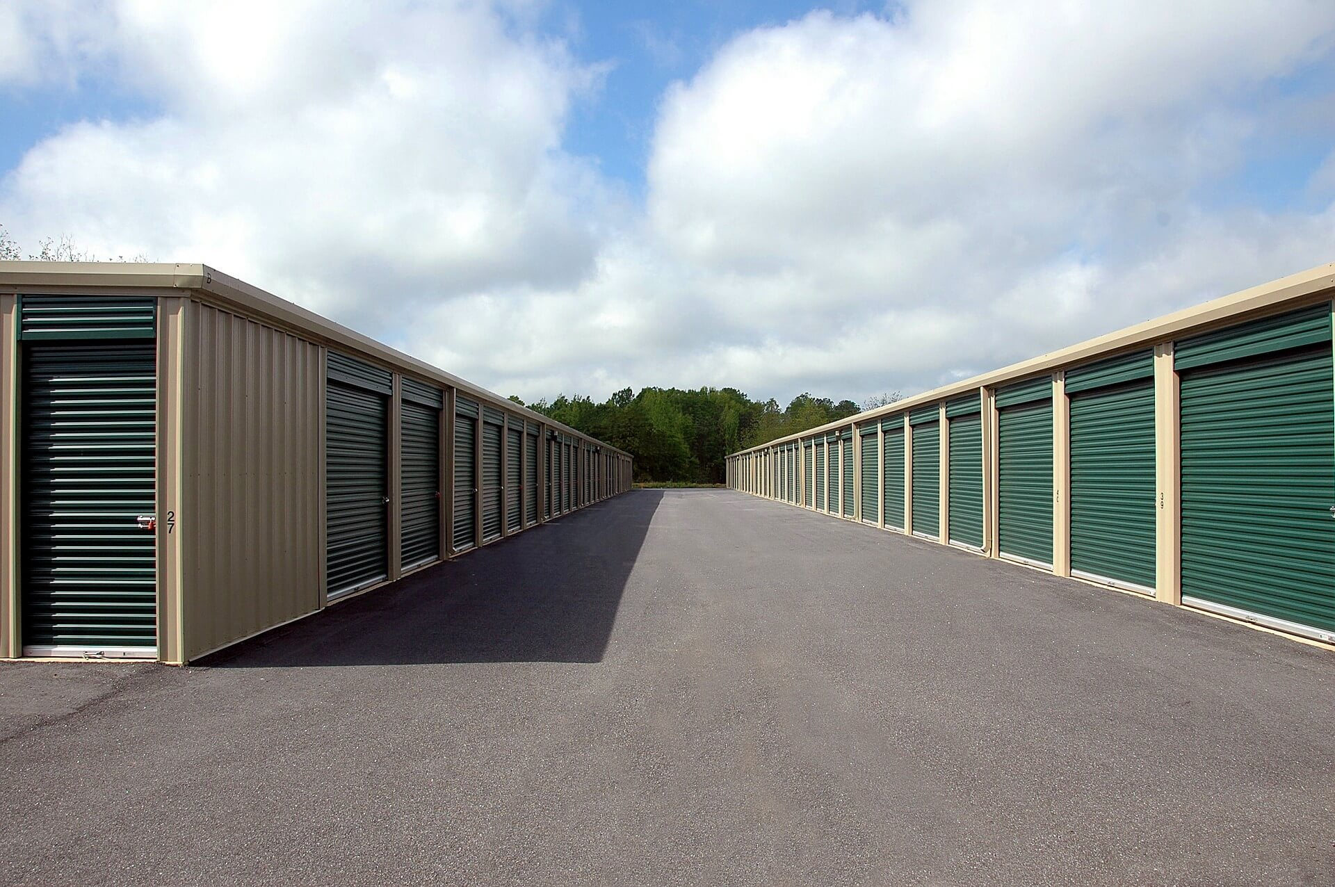 Commercial Metal Siding Replacement For Commercial Storage Warehouse