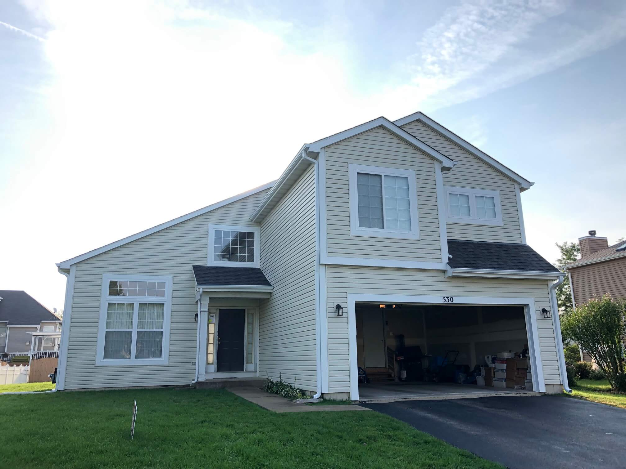 Residential Vinyl Full Siding Replacement by Promar Exteriors