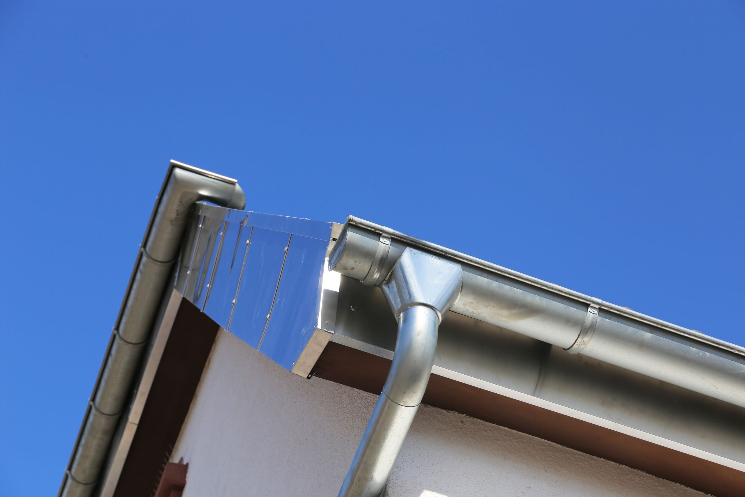 Steel Gutter Installation and Replacement for Commercial Property
